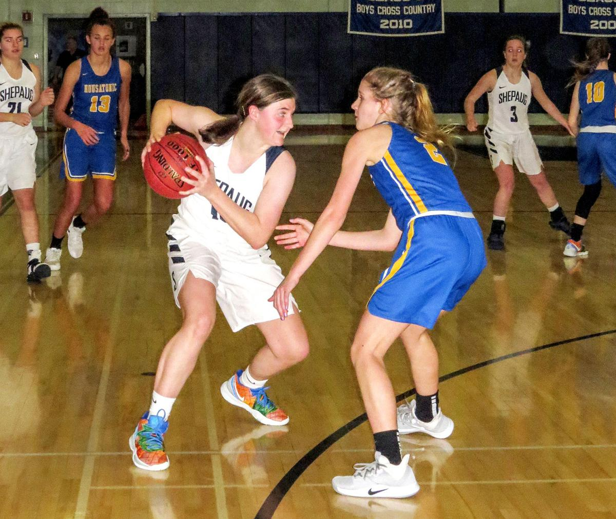 Shepaug Girls' Basketball: Spartans Tie for First Place in League