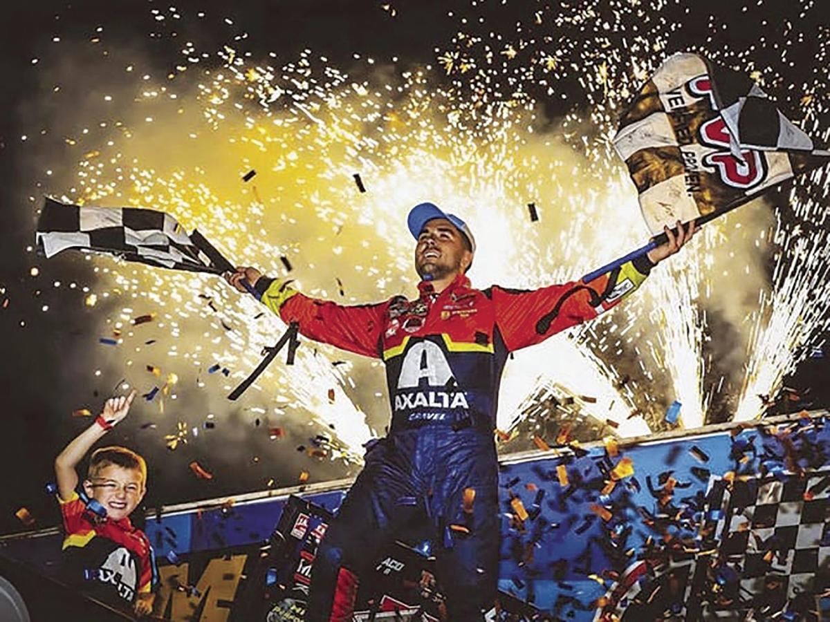 Watertown Driver Joins Racing Royalty: David Gravel Wins Knoxville Nationals