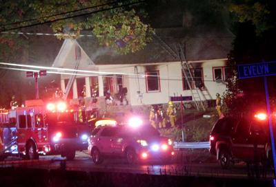 HOUSE FIRE IN OAKVILLE