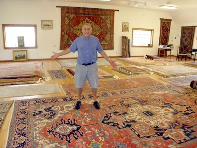 Owner of Samaha Rugs in Woodbury Retiring After 43 Years in Business