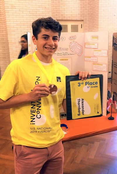Thomaston's Alexander Thornberg: Student Wins at Invention Convention
