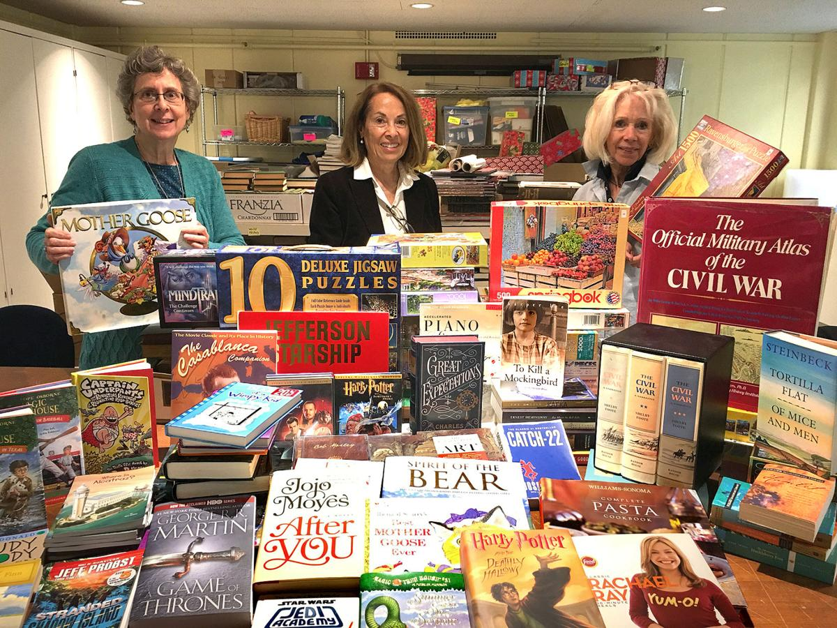 In Newtown: Booth Friends' 44th Annual Book Sale Aids Library Effort