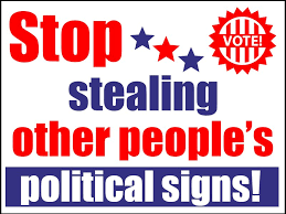 Watertown Police Warn Against Vandalism, Theft of Political Signs