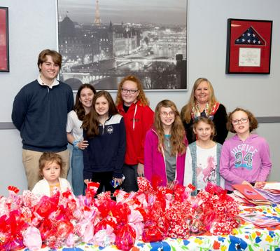 Daughters of the American Revolution: DAR Hosts Valentines for Veterans Event