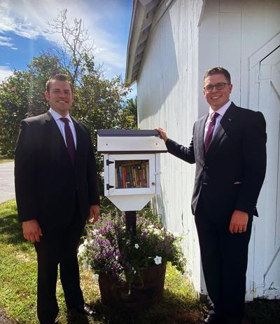 Southbury: New Little Free Library Installed