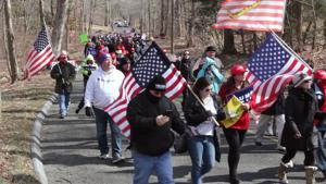 Pro-Trump March Held in Southbury