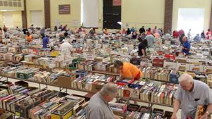 C.H. Booth Library Book Sale