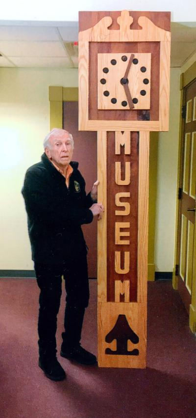 Tribute to Bob Magdziarc: Newly Handcrafted Grandfather Clock Sign for Museum