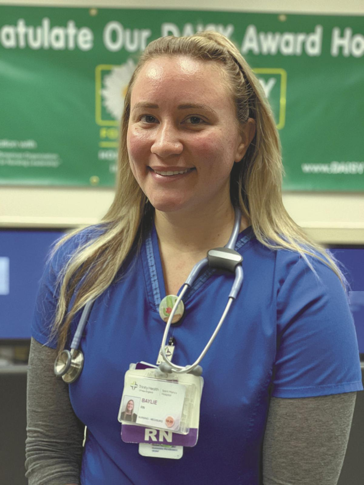 At St. Mary's Hospital: Nurses Honored With Daisy Awards