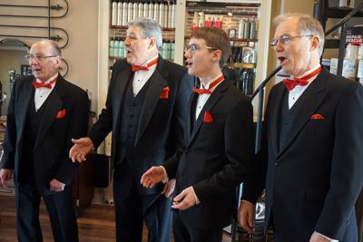 For Valentine's Day: Chordsmen Offer Quartets-for-Hire