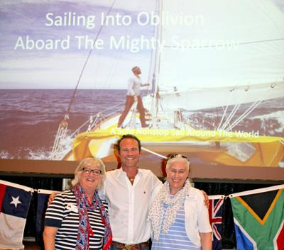 The Mighty Sparrow: Sailor Shares Tales of Round-the-World