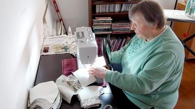 Oxford Senior Center Sewing Guild Makes Masks Designed for Seniors