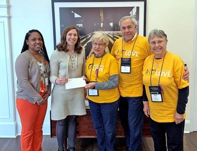 MUUS Donates Gift to Initiative