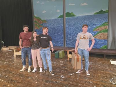 At Pomperaug High School: Production of 'Mamma Mia' Set