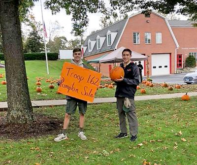 SCOUTS TO SELL PUMPKINS
