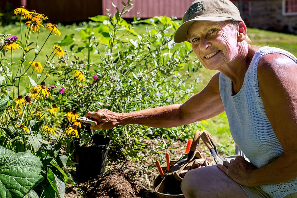 professional will explain how to winterize garden community