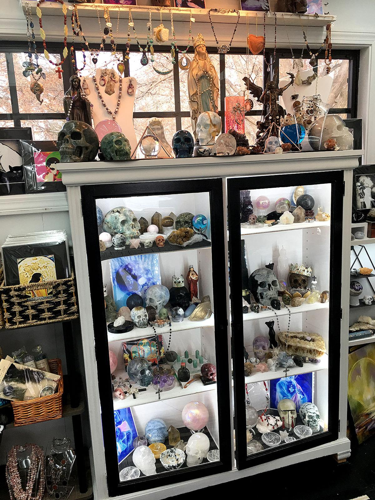 Bethlehem's Between Heaven and Hell: Boutique Carries Metaphysical, Spiritual and Religious Gifts