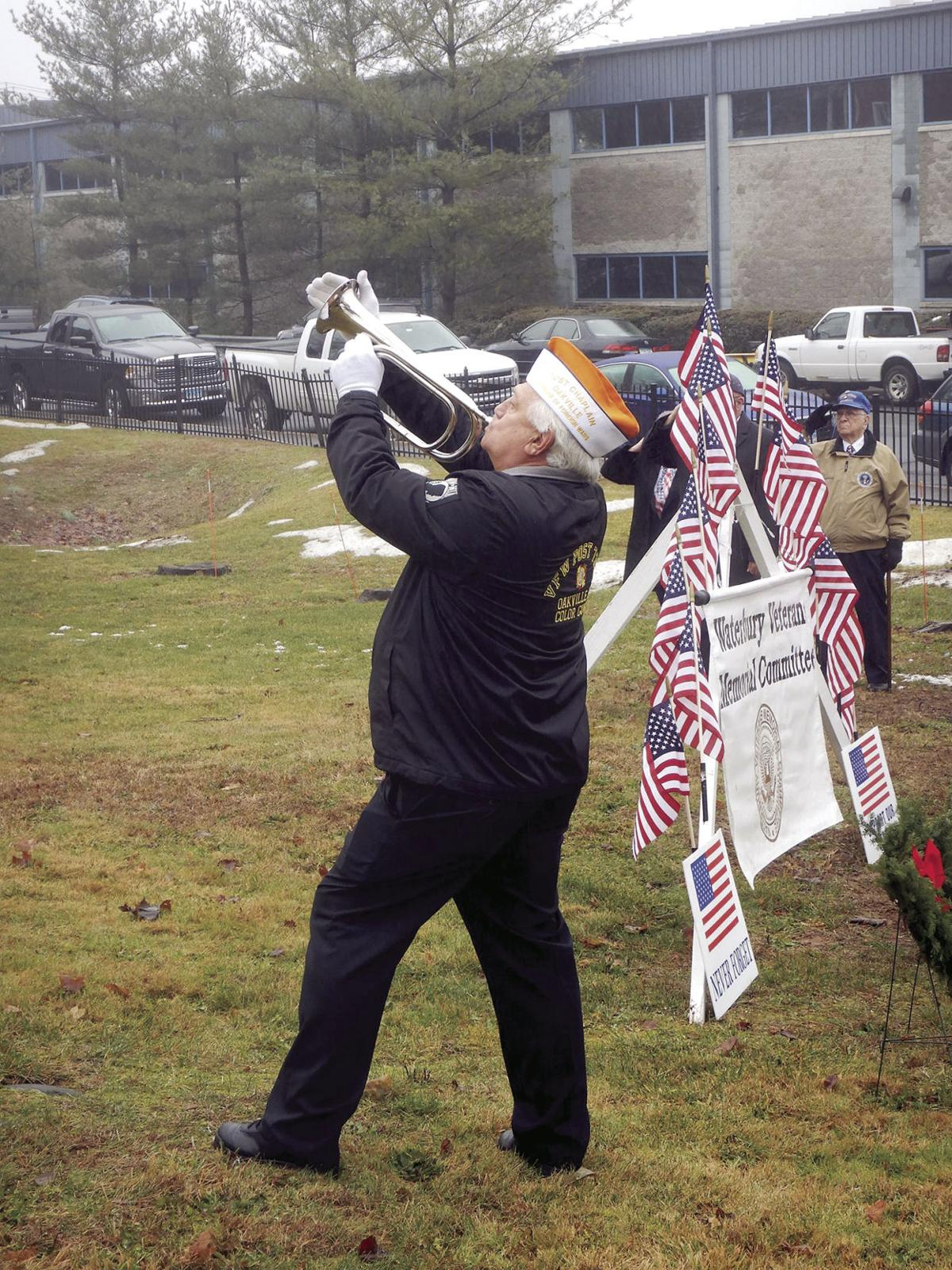 Watertown: Wreath Ceremony Honors Vets