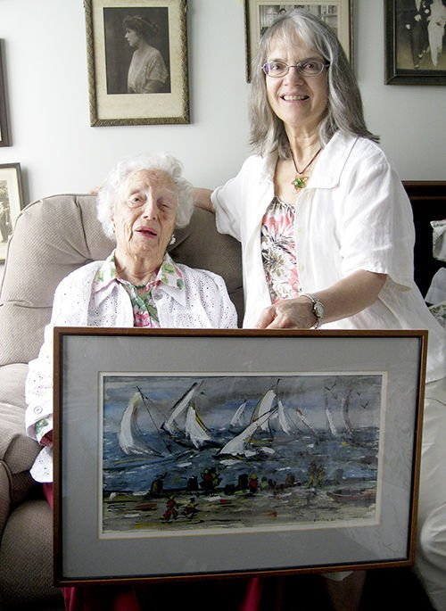 Family of Artists Exhibit Their Paintings at Local Library