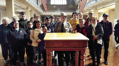 Troop 140 of St. Mary Magdalen: Scouts Take Tour of Ellis Island