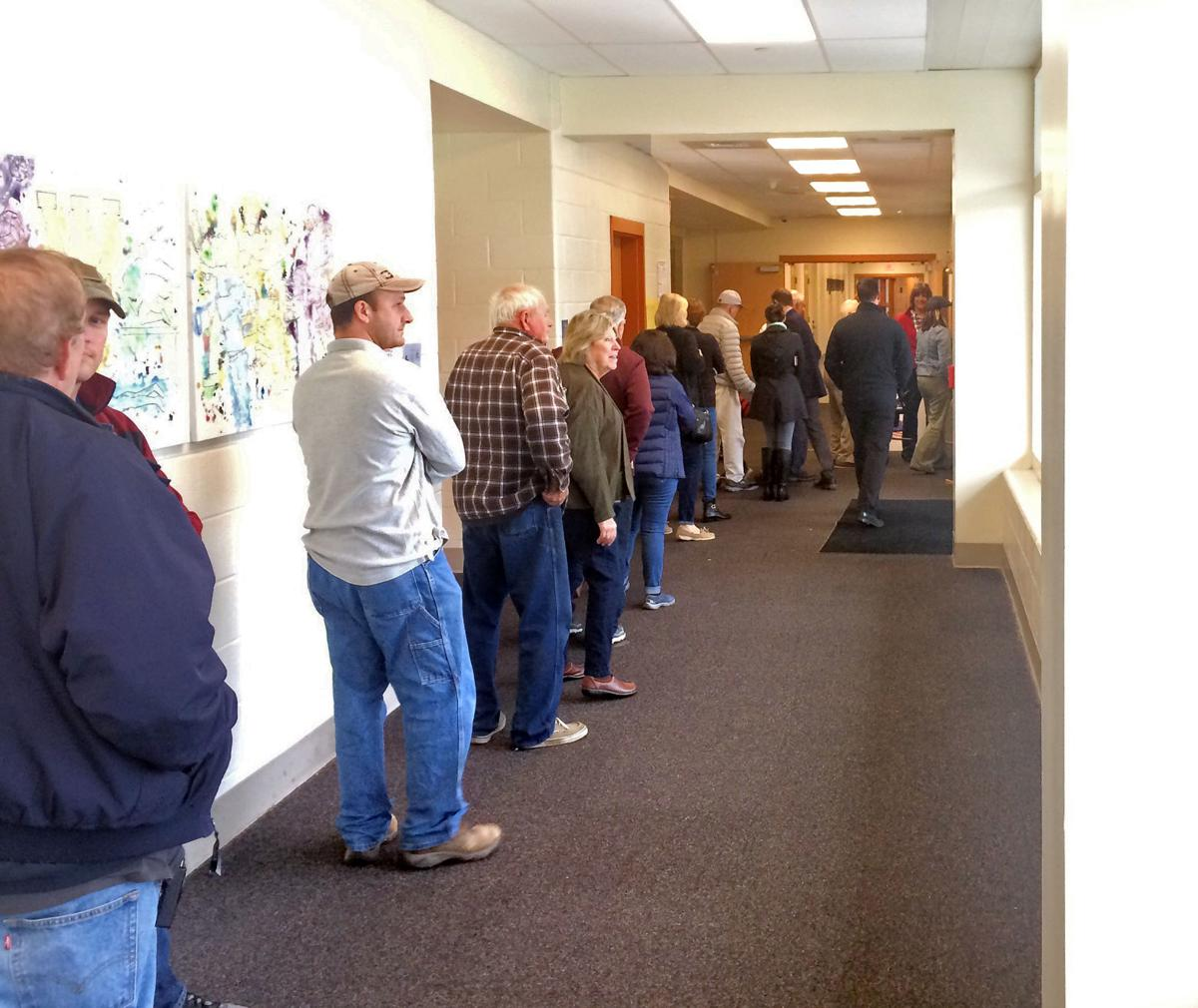 Watertown: Voters Turn Out in Droves