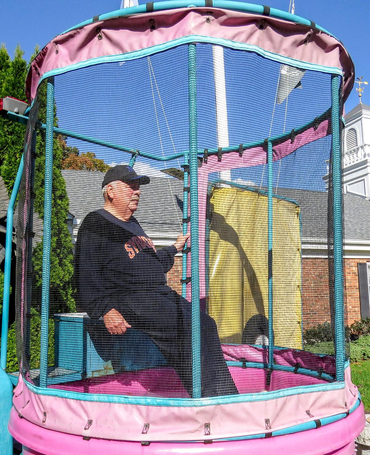DUNKING FOR DONATIONS