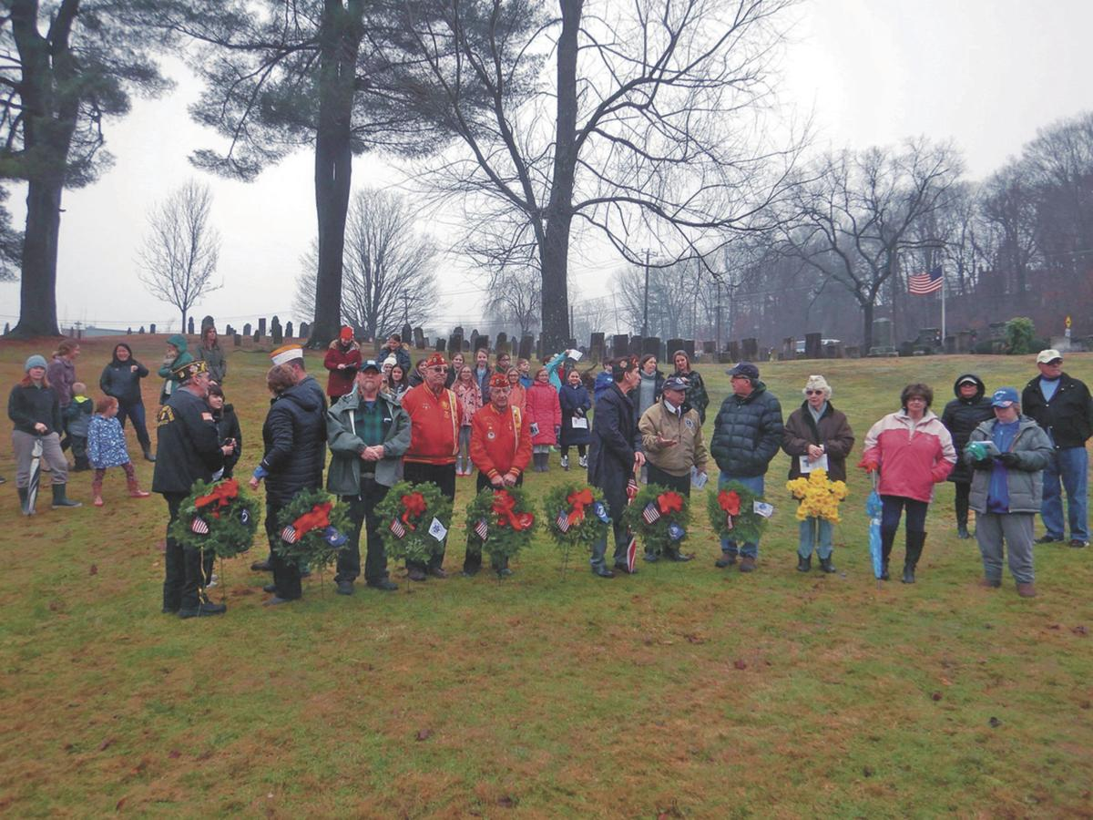 Wreath Ceremony at Watertown Site