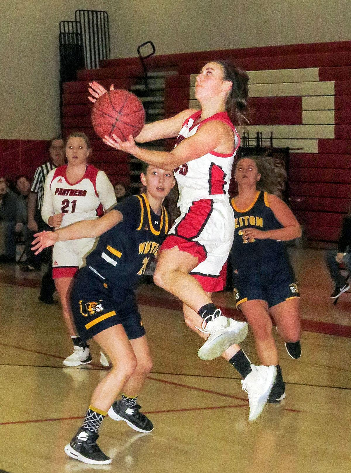 Pomperaug Girls' Basketball: Panthers Coast to 64-34 Victory Over Weston