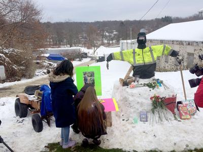 TOWN MOURNS LOSS