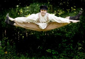 "<p>Clay and Wattles Theater Company will present the beloved musical ""Fiddler on the Roof,"" opening Saturday, July 29 for a four-week run at The Gary The Olivia Theater, an open-air venue on Flanders Road in Bethlehem. Noah Pyzik, a New York City-based actor, is one of the featured dancers in the production.</p><p></p>"