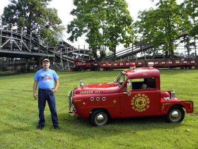 Owner of Yankee Crosley Parts Restores Vintage Firetruck
