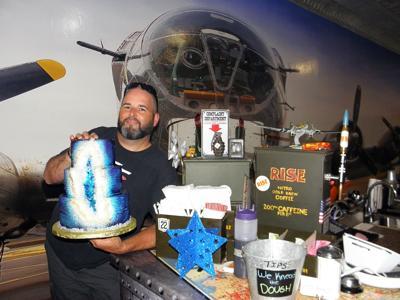 Cake Artist Offers Unique Cakes, Bomb Bay Café to Patrons