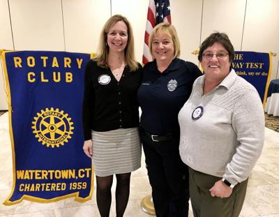 FIRE MARSHAL SPEAKS TO ROTARIANS