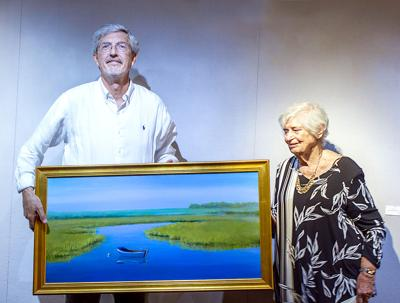LOCAL ARTISTS HONORED