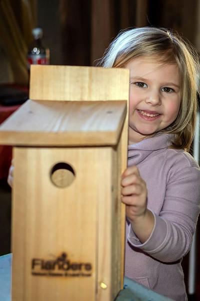 At Flanders Nature Center: Bluebird Nest Box Programs Set