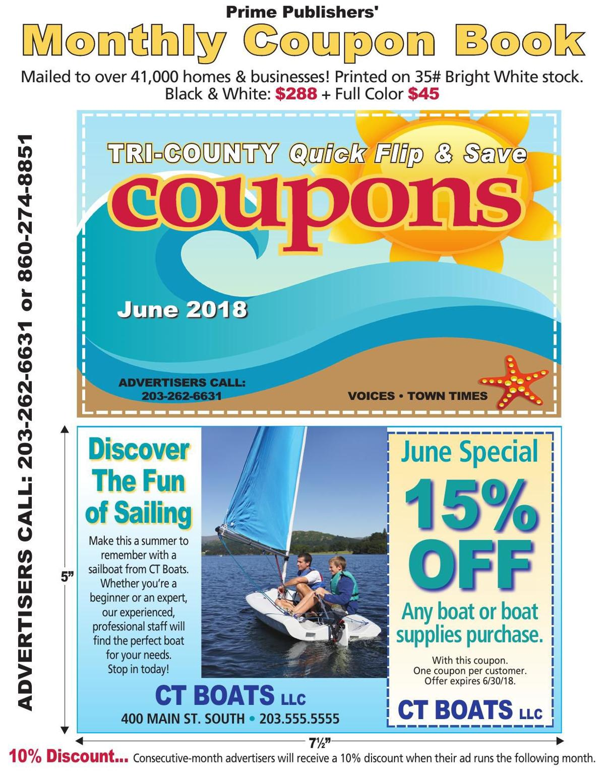 June 2018 Coupon Book
