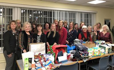 Waterbury: DAR Donates Items to Safe Haven