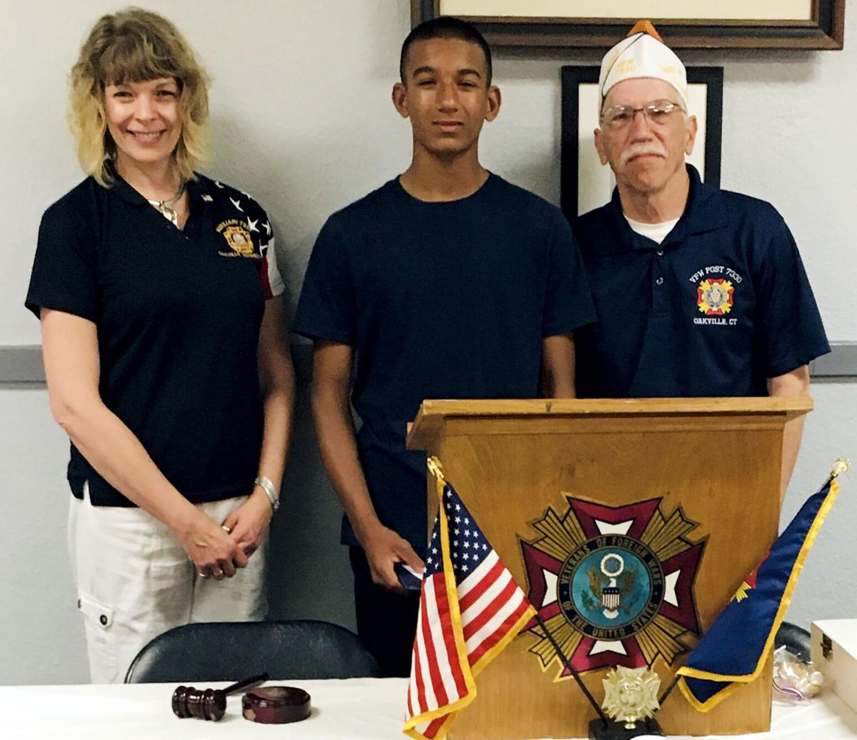 From VFW Post 7330: Two Students Named as Winners  in Voice of Democracy Essay Contest