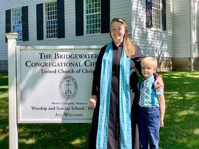 The Rev. Abby Gackenheimer: New Full Time Pastor Appointed to Bridgewater Congregational Church