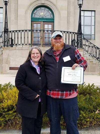Watertown Department of Public Works: Operator Receives Master's Certificate