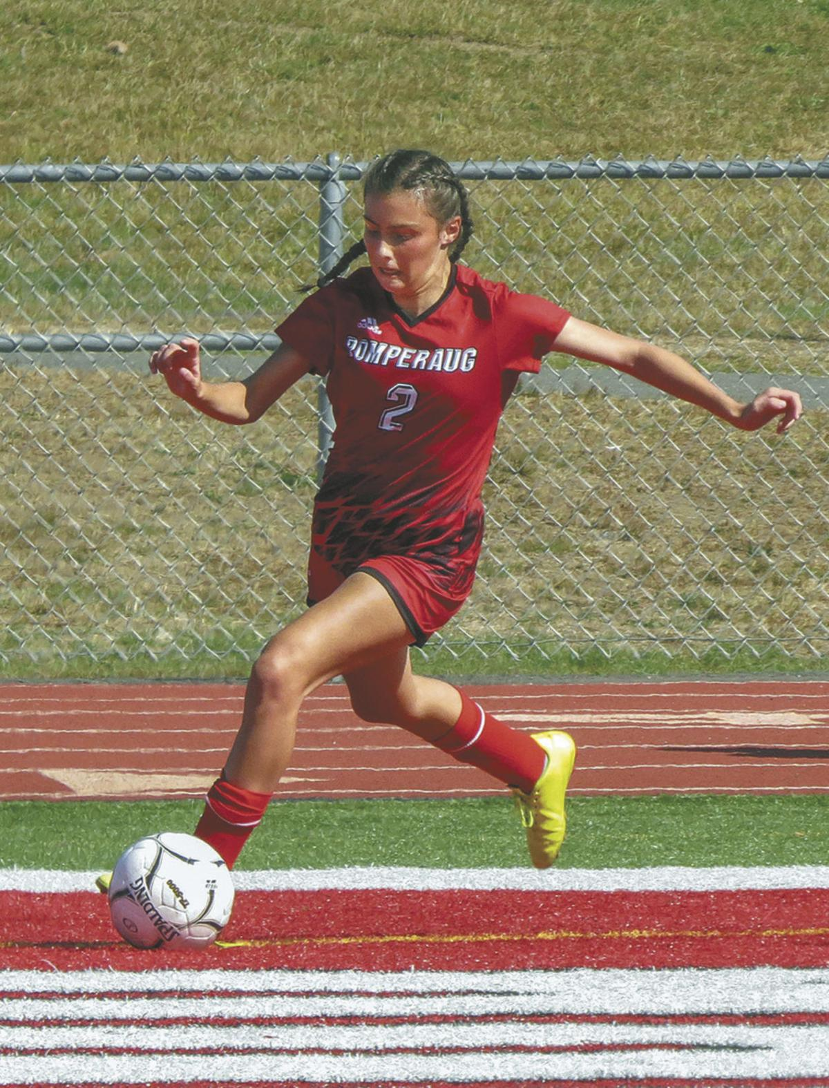 Pomperaug: Girls' Soccer Burns Kolbe 7-0