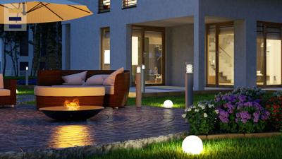 Lighting your outdoor space at night not only illuminates the beauty of your garden, but it's also proven to deter crime.
