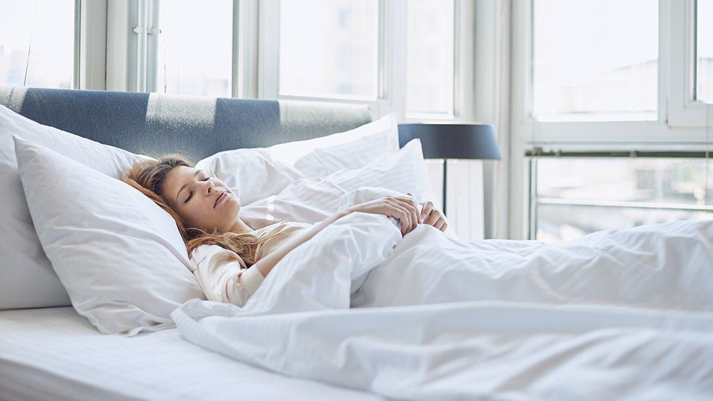 Like with any bedding, it's best to wash a new blanket before using it on the bed. In addition to removing surface dirt, a wash also helps neutralize industrial or packaging-related odors.