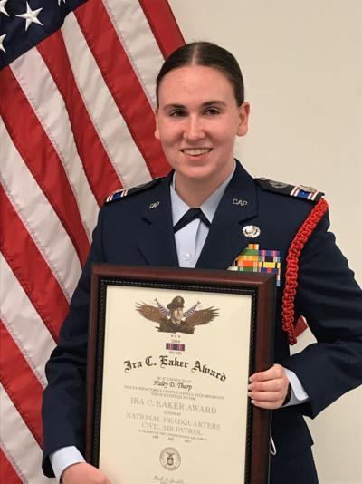 Cadet Haley Tharp
