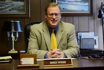 Princeton City Manager Mike Webb