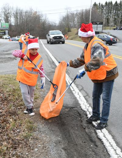 Courthouse Road clean up
