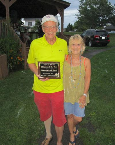 Davis family honored
