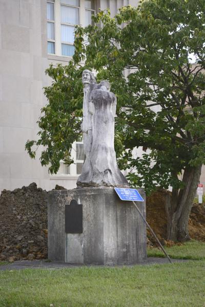 Historic Clay statue