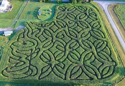 2021 Crab Orchard Corn Maze