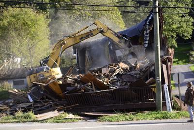 Getting rid of dilapidated buildings
